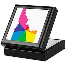 idaho rainbow Keepsake Box