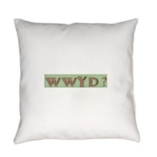 What would our heros do? Everyday Pillow