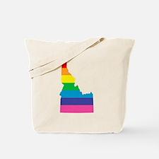 idaho rainbow Tote Bag