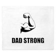 Dad Strong King Duvet
