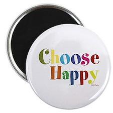 Choose Happy 01 Magnets