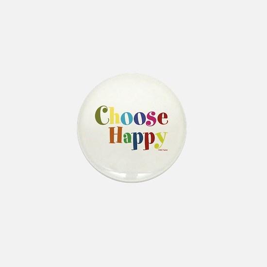 Choose Happy 01 Mini Button
