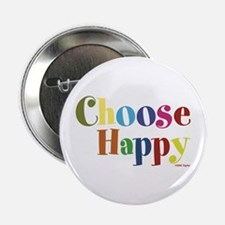 """Choose Happy 01 2.25"""" Button (10 pack)"""