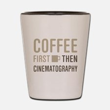 Coffee Then Cinematography Shot Glass