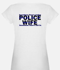 PoliceWives Justice Shirt
