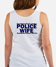 PoliceWives Justice Women's Tank Top