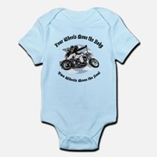 2 wheels III Infant Bodysuit