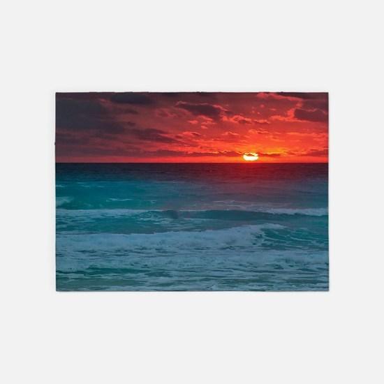 Sunset Beach 5'x7'Area Rug