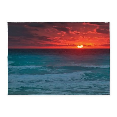 Sunset Beach 5u0027x7u0027Area Rug