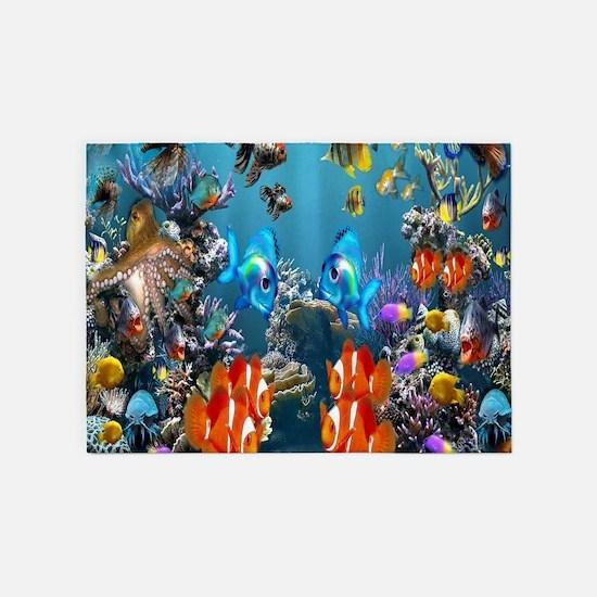 Under the Sea 5'x7'Area Rug