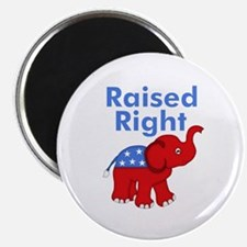 Raised Right Magnets