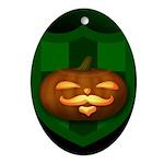 Stump Oval Ornament