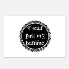 Cute Read past my bedtime Postcards (Package of 8)