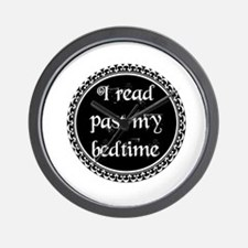 Funny Read books Wall Clock
