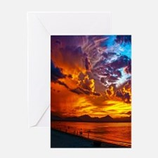 Sunset Beach Gifts Greeting Cards