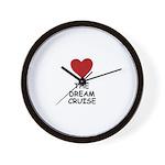 LOVE THE DREAM CRUISE Wall Clock