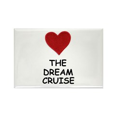 LOVE THE DREAM CRUISE Rectangle Magnet (100 pack)