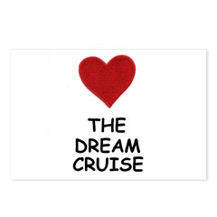 LOVE THE DREAM CRUISE Postcards (Package of 8)