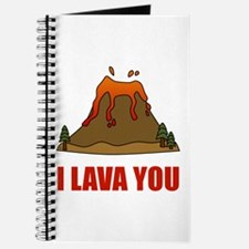 I Lava You Volcano Journal