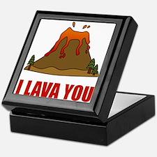 I Lava You Volcano Keepsake Box