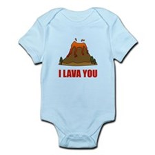 I Lava You Volcano Body Suit