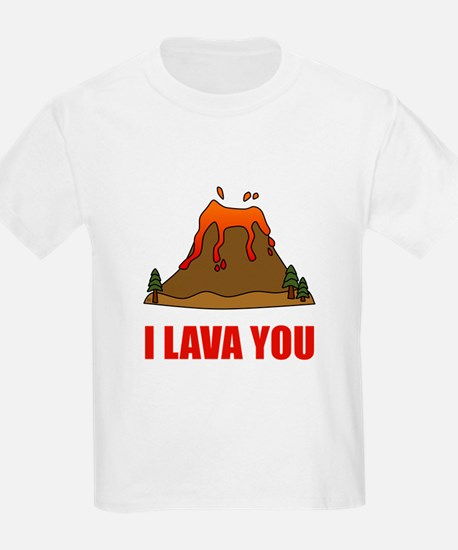 I Lava You Volcano T-Shirt
