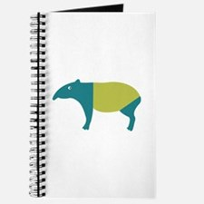 Aqua and green tapir Journal
