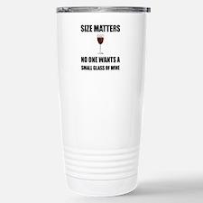 Size Matters Wine Travel Mug