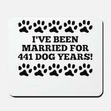 63rd Anniversary Dog Years Mousepad