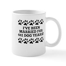 63rd Anniversary Dog Years Mugs