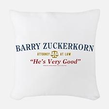 Arrested Development Barry Zuc Woven Throw Pillow