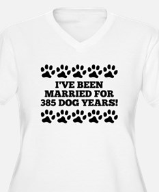 55th Anniversary Dog Years Plus Size T-Shirt