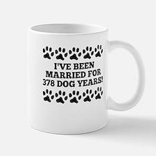 54th Anniversary Dog Years Mugs