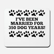 50th Anniversary Dog Years Mousepad