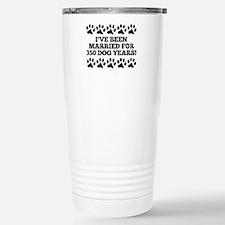 50th Anniversary Dog Years Travel Mug