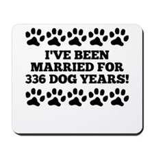 48th Anniversary Dog Years Mousepad