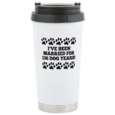 48th Anniversary Dog Years Travel Mug