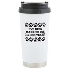 45th Anniversary Dog Years Travel Mug