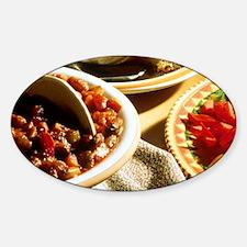 Chili with Cornbread Decal
