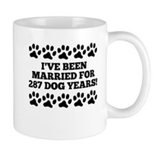 40th Anniversary Dog Years Mugs