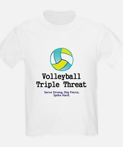 Volleyball Slogan T-Shirt