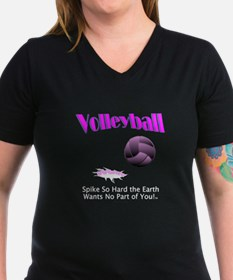 Volleyball Slogan Shirt