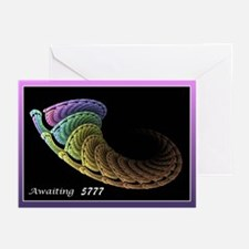 Awaiting 5776 Greeting Cards (pk Of 20)