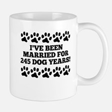 35th Anniversary Dog Years Mugs