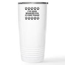 33rd Anniversary Dog Years Travel Mug