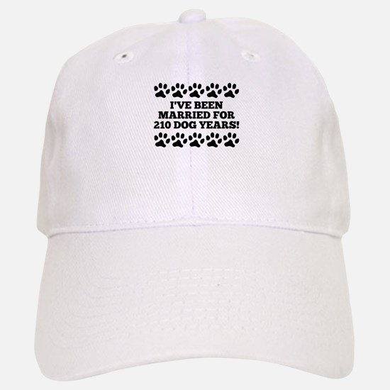 30th Anniversary Dog Years Baseball Baseball Baseball Cap