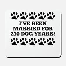 30th Anniversary Dog Years Mousepad