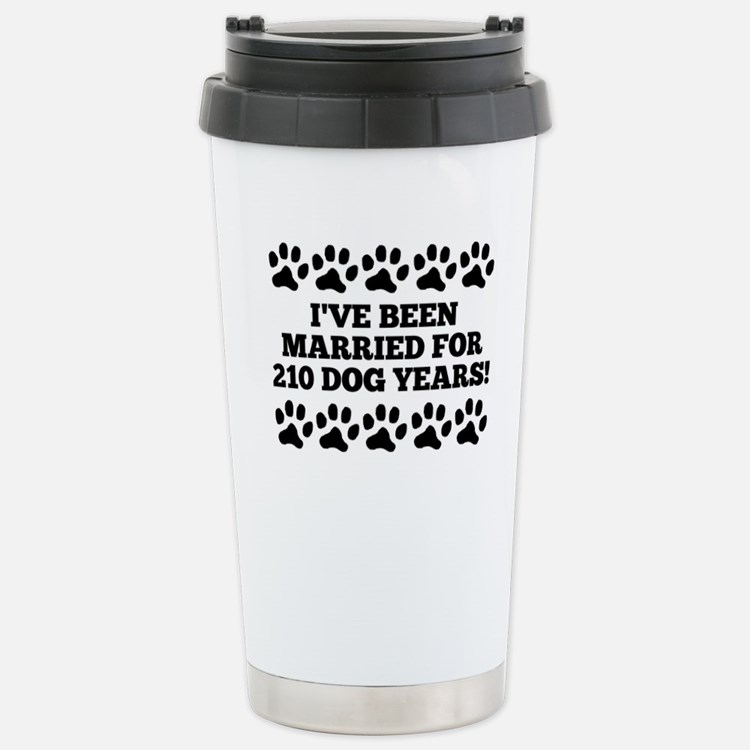 30th Anniversary Dog Years Travel Mug