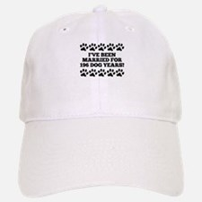 28th Anniversary Dog Years Baseball Baseball Baseball Cap