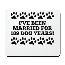 27th Anniversary Dog Years Mousepad